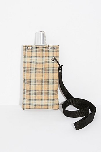 Canvas Sling Drink Tote