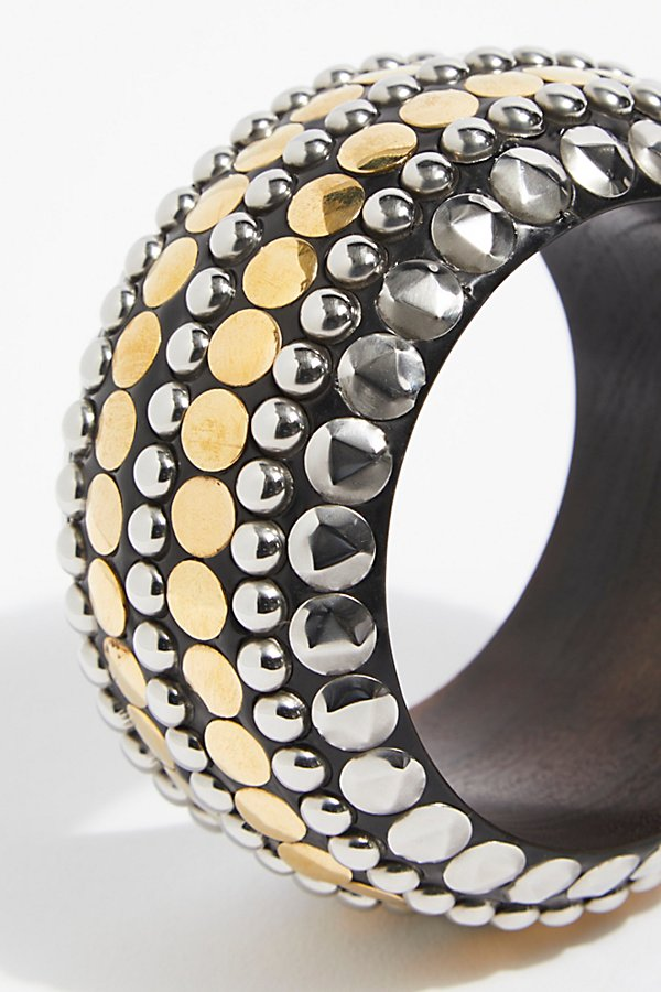 Slide View 3: Studded Bangle