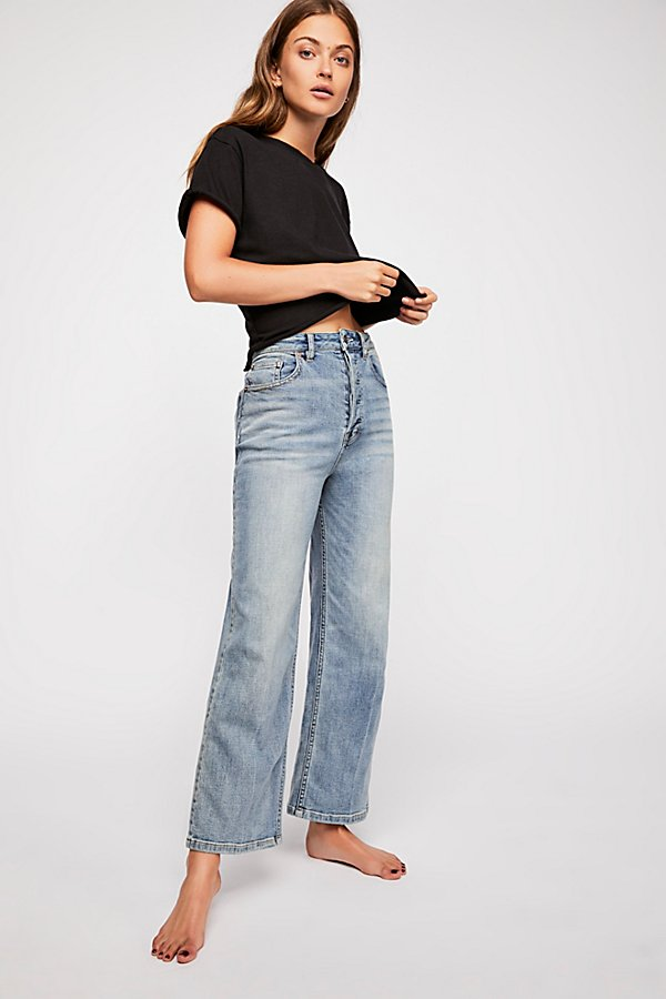 Slide View 1: Wales Wide Leg Jeans