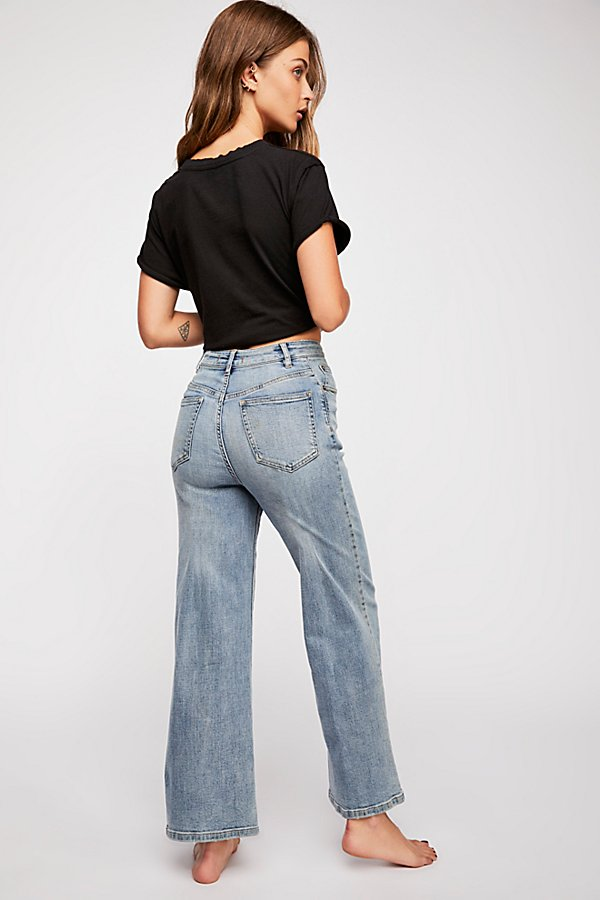Slide View 2: Wales Wide-Leg Jeans