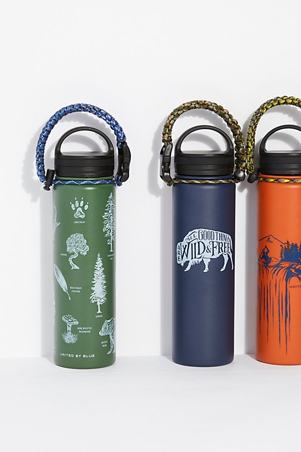 Slide View 1: Bungee Stainless Steel Bottle