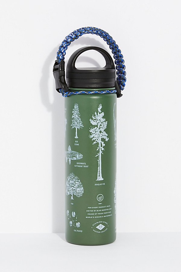 Slide View 3: Bungee Stainless Steel Bottle