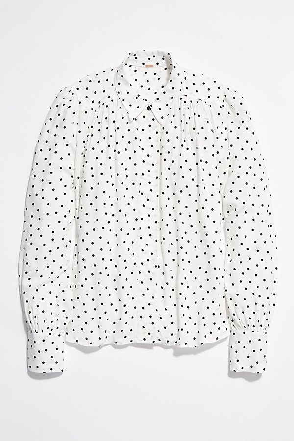 Slide View 5: I'm Yours Polka Dot Top