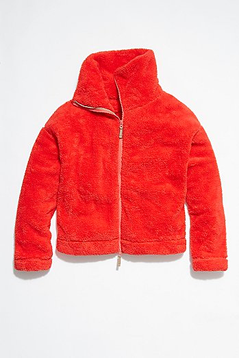 Dazed Hi Neck Jacket