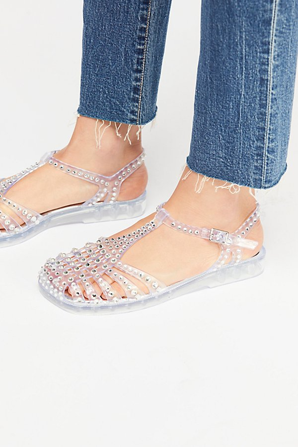 Slide View 3: Time Travel Jelly Sandal