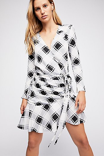 Emama Plaid Dress