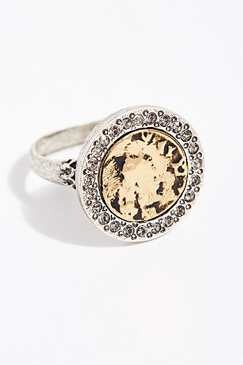 24k Hestia Coin Ring