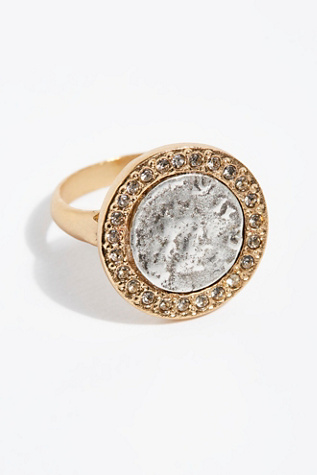 24k Hestia Coin Ring by Free People