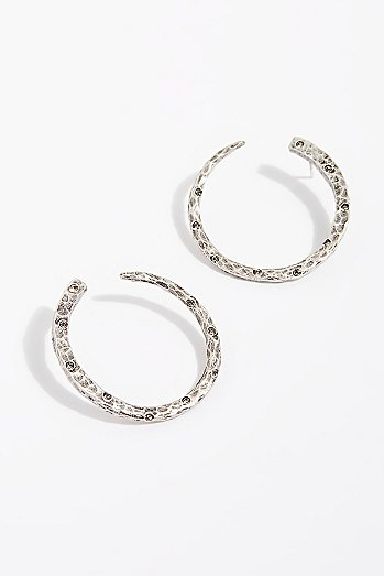Imperia Wrap Hoop Earrings
