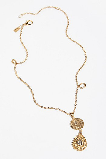 Orai Coin Drop Pendant
