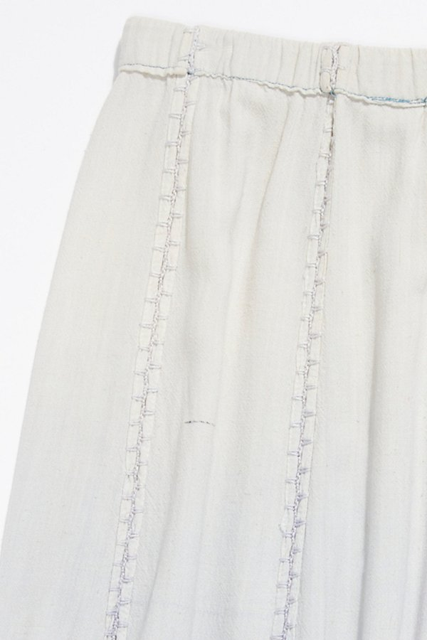 Slide View 4: Vintage 1970s Overdyed Cotton Skirt