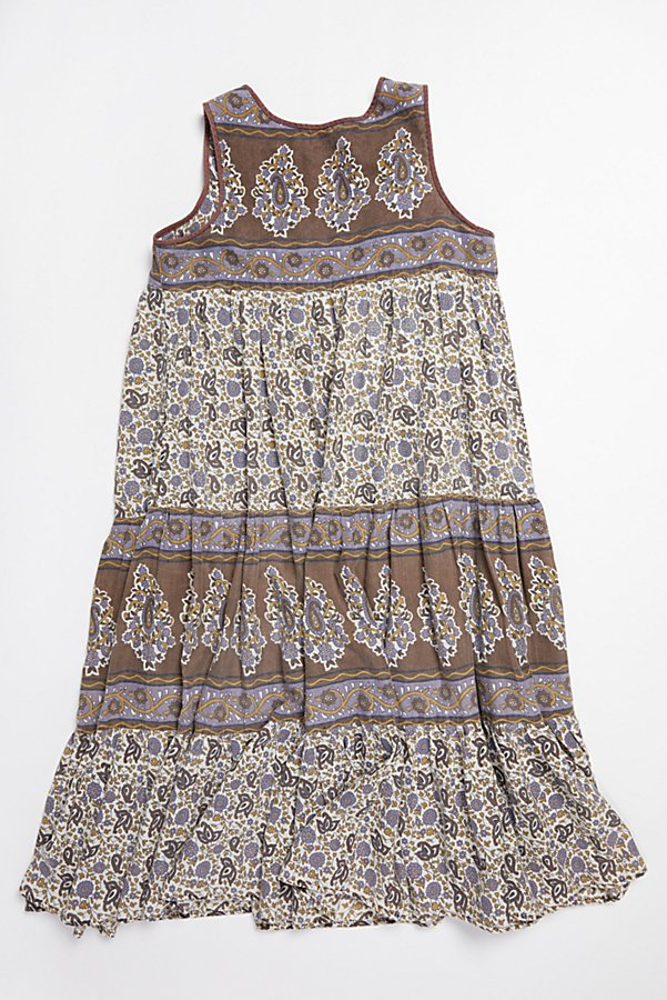 Slide View 3: Vintage 1980s Printed Cotton Dress