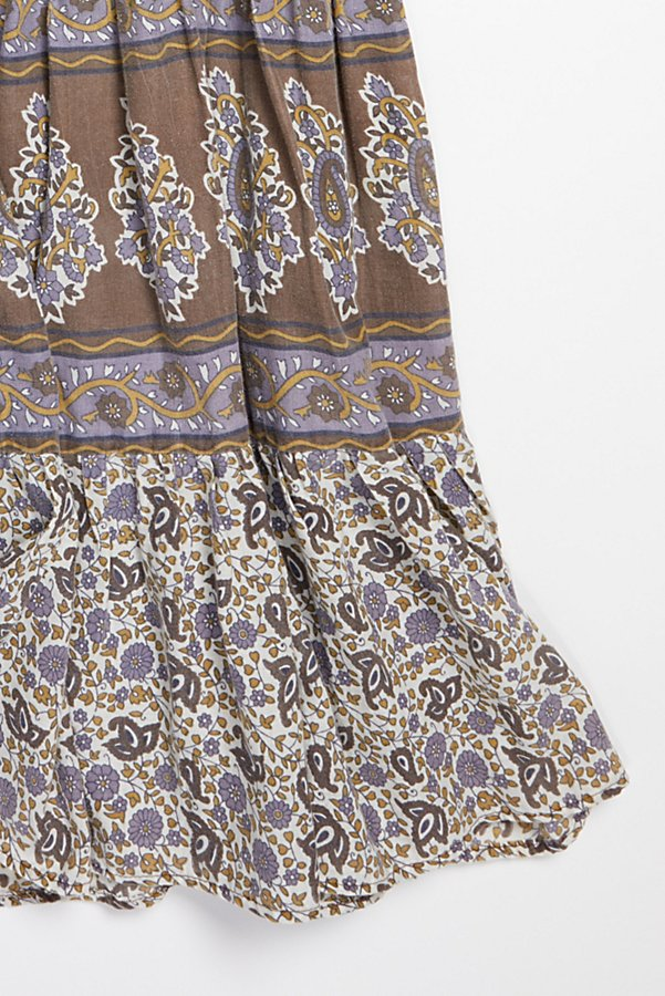 Slide View 4: Vintage 1980s Printed Cotton Dress