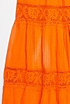 Thumbnail View 2: Vintage 1970s Overdyed Pintuck Dress