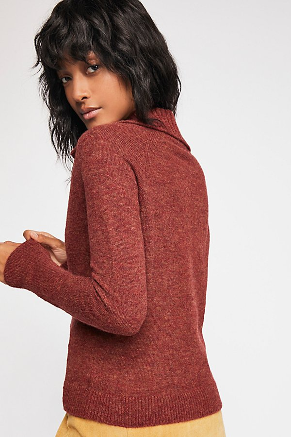 Slide View 2: Keep It Real Henley Sweater