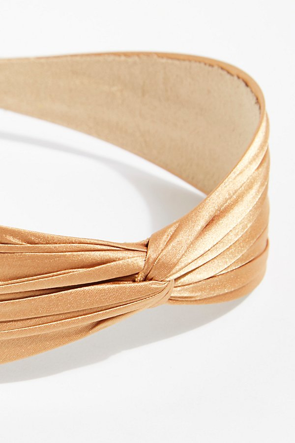 Slide View 4: Satin Twist Headband