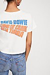 Thumbnail View 1: Bowie Rebel Crop Tee