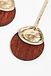 Thumbnail View 3: Wood Pendulum Earrings