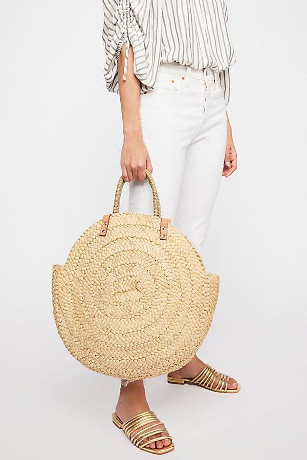 Slide View 1: Belize Straw Tote