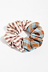 Thumbnail View 2: Mix Plaid Scrunchie