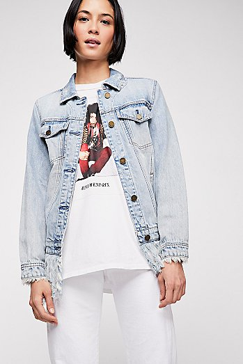 Blank NYC Whiplash Denim Jacket