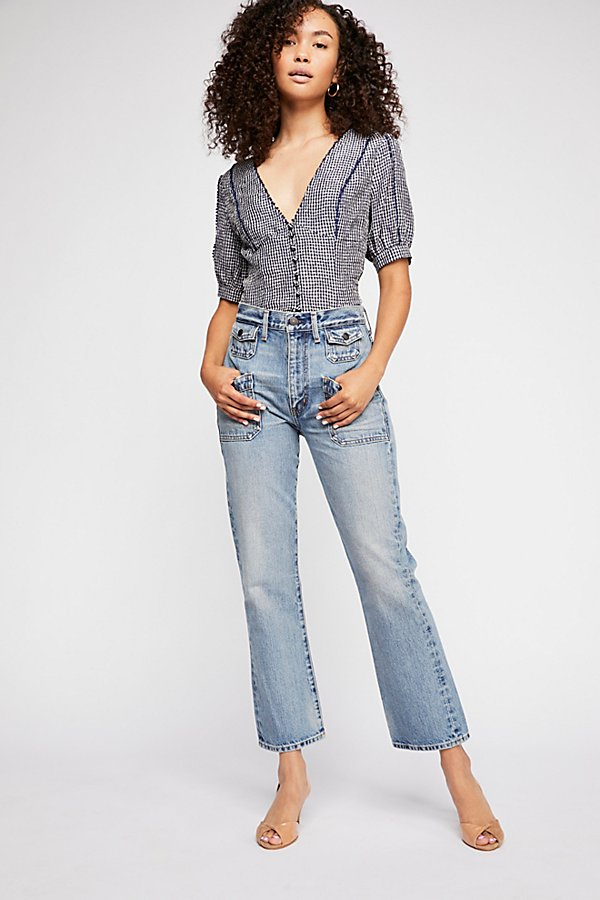 Slide View 1: Citizens of Humanity Kamila Patch Pocket Flare Jeans