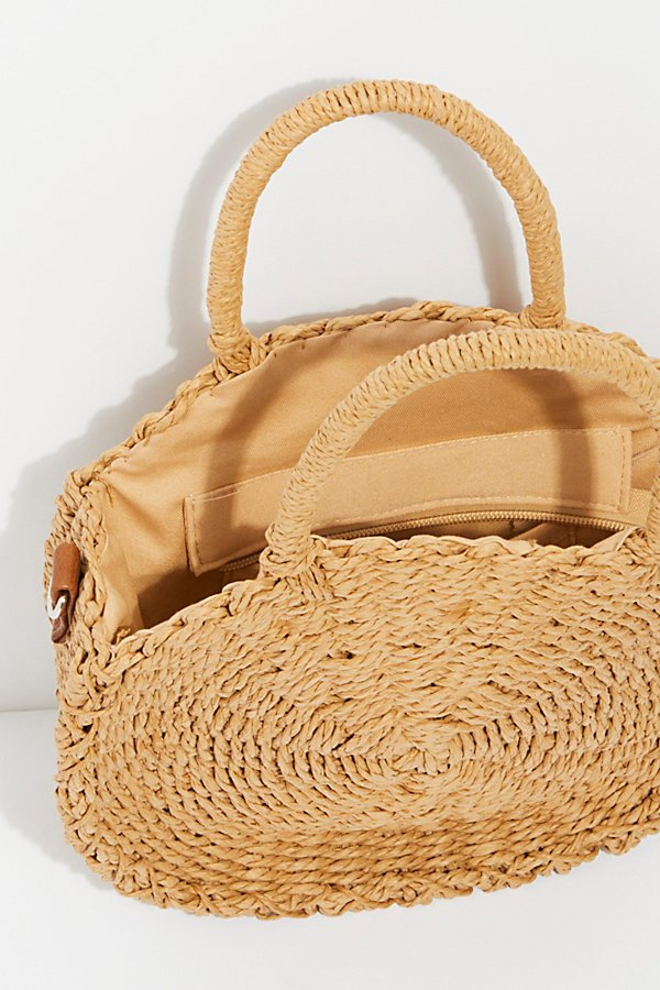 Slide View 5: Minka Straw Tote