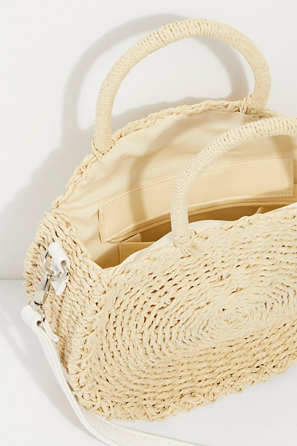 Slide View 6: Minka Straw Tote