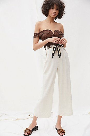 Desiree Linen Trousers
