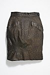 Thumbnail View 1: Vintage Pebble Leather Skirt