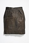 Thumbnail View 4: Vintage Pebble Leather Skirt