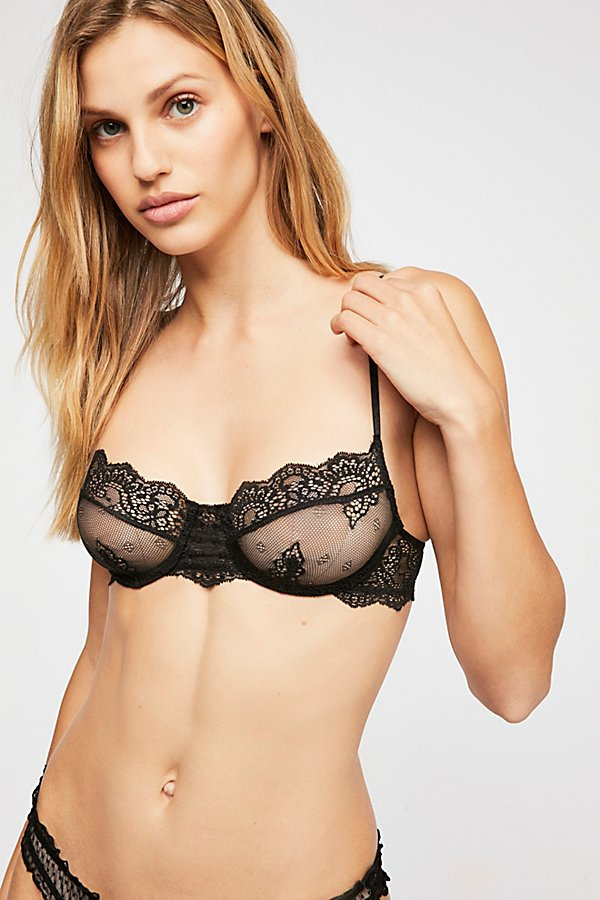 Slide View 1: So Fine Lace Underwire Bra