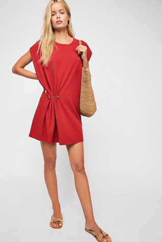 Bianca Knit Mini Dress by Free People