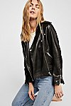 Thumbnail View 1: Loon Moto Leather Jacket