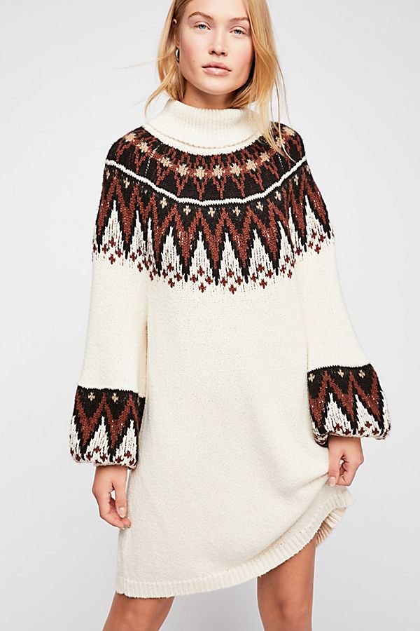 Scotland Sweater Dress | Free People
