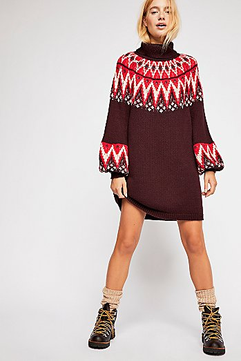 Scotland Sweater Dress