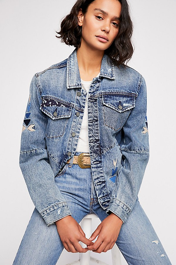 Slide View 1: Pub Crawl Denim Jacket