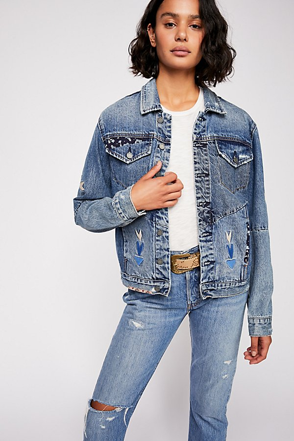Slide View 2: Pub Crawl Denim Jacket