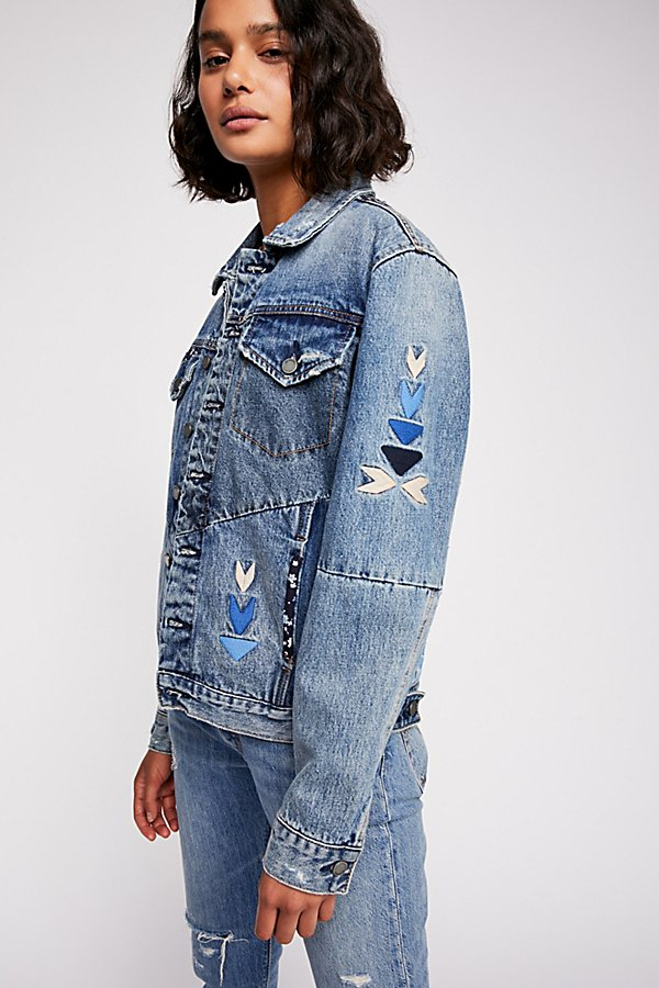 Slide View 3: Pub Crawl Denim Jacket