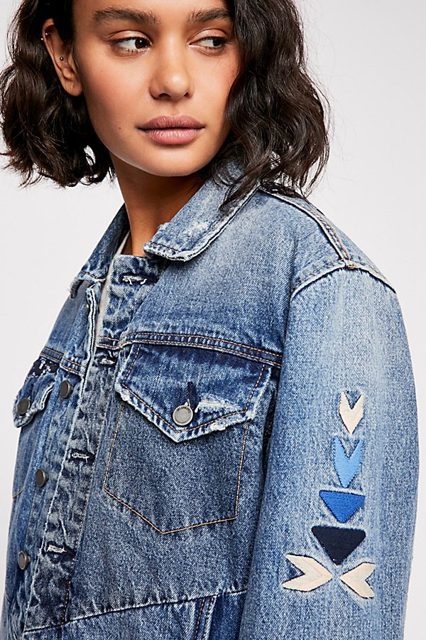 Slide View 5: Pub Crawl Denim Jacket