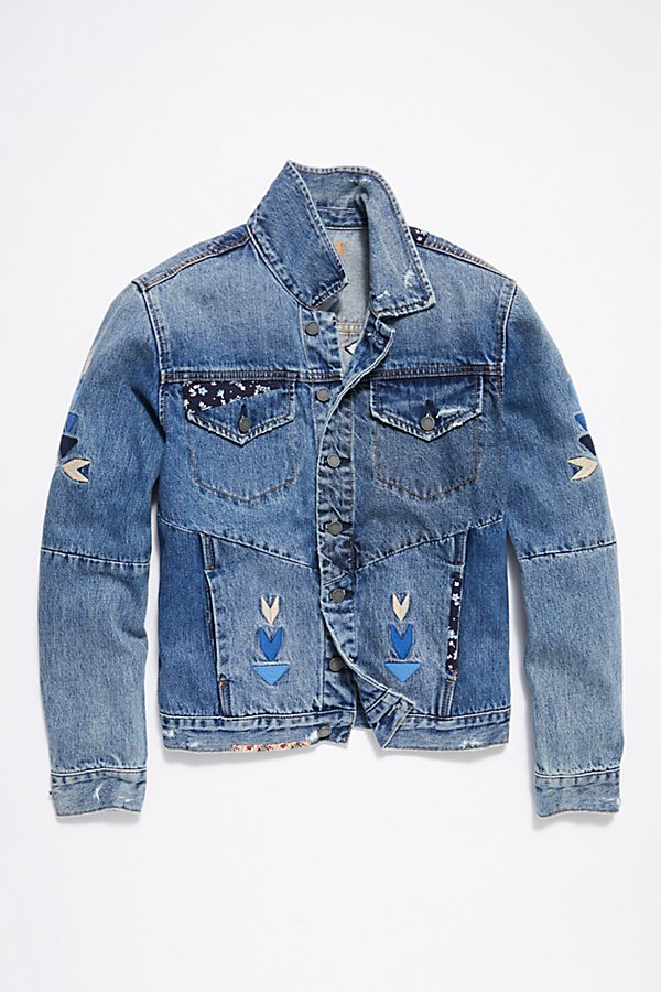 Slide View 6: Pub Crawl Denim Jacket