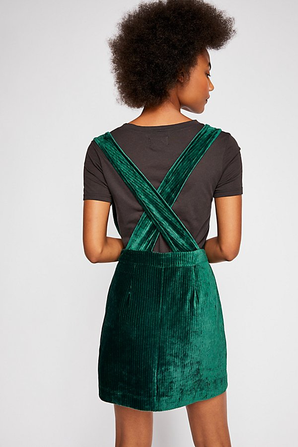 Slide View 2: Zip Up Pinafore Dress
