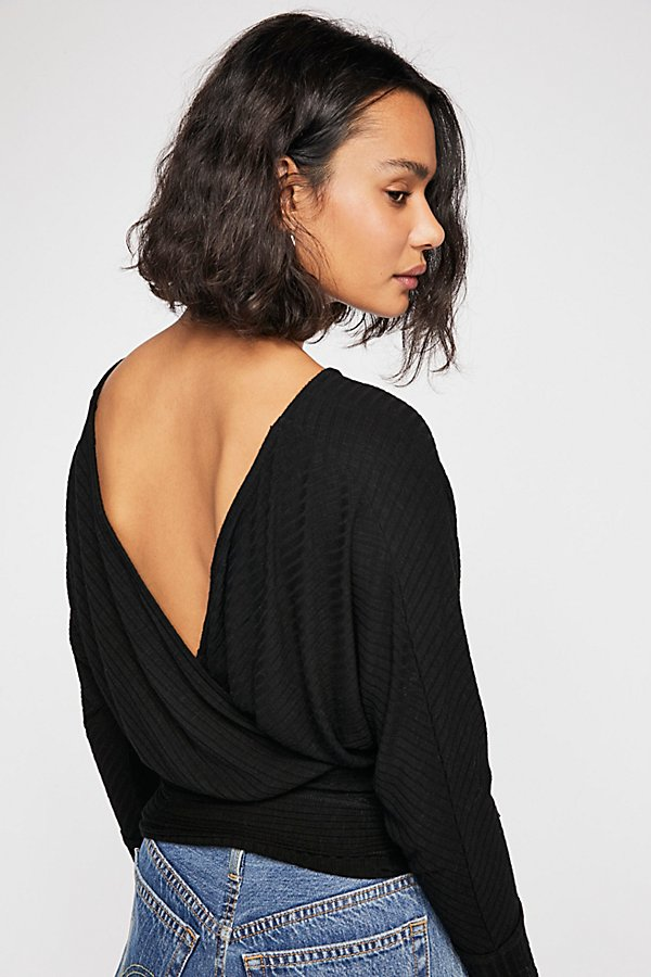 Slide View 3: We The Free East Coast Wrap Top
