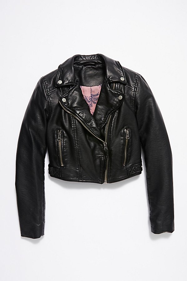 Slide View 6: Heartache Moto Jacket