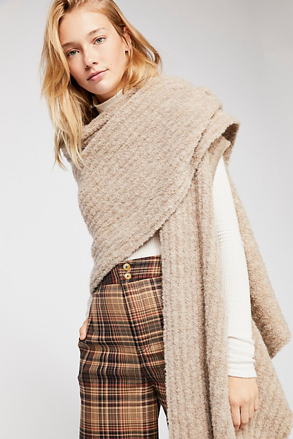 Slide View 1: Andes Alpaca Oversized Scarf
