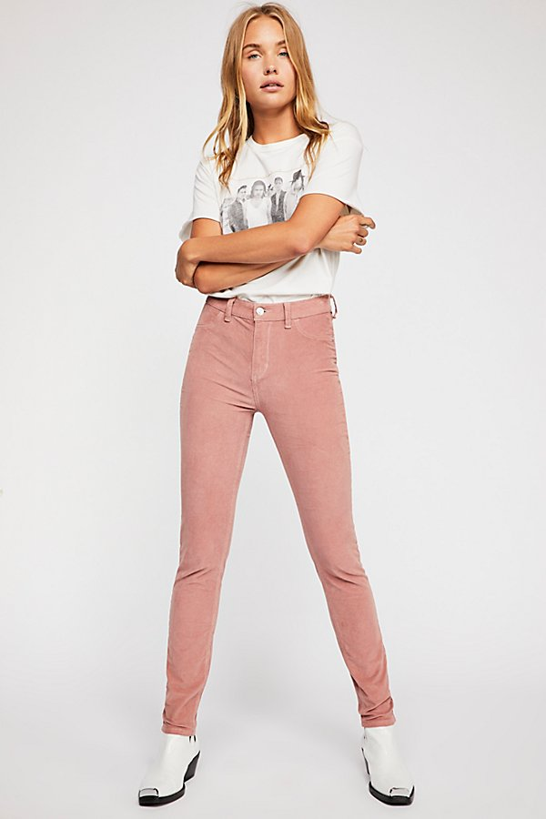 Slide View 2: Cord Skinny Trousers