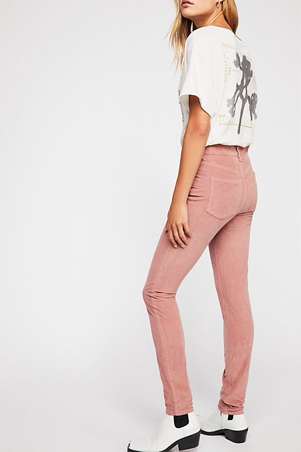 Slide View 3: Cord Skinny Trousers