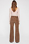 Thumbnail View 2: Hip-Hugging Flare Cord Trousers