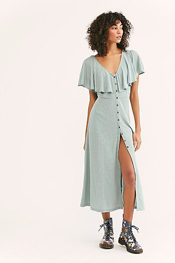 Messenger Midi Dress