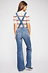 Thumbnail View 3: Suspender High Rise Flare Jeans
